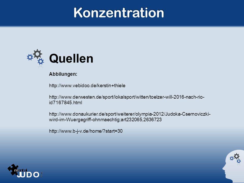Konzentration Quellen Abbilungen: http://www.vebidoo.de/kerstin+thiele