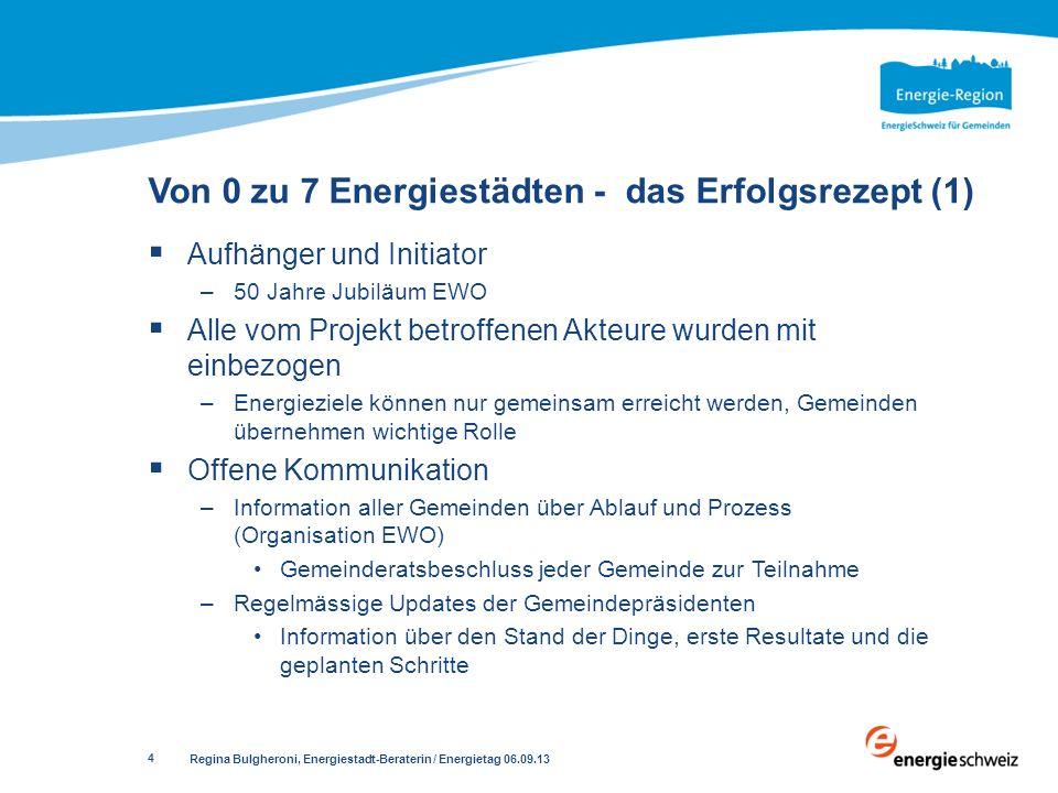 Von 0 zu 7 Energiestädten - das Erfolgsrezept (1)