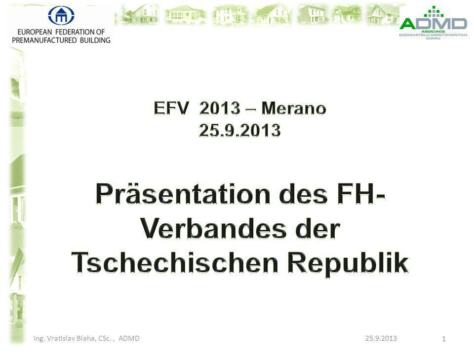 Präsentation des FH-Verbandes der Tschechischen Republik