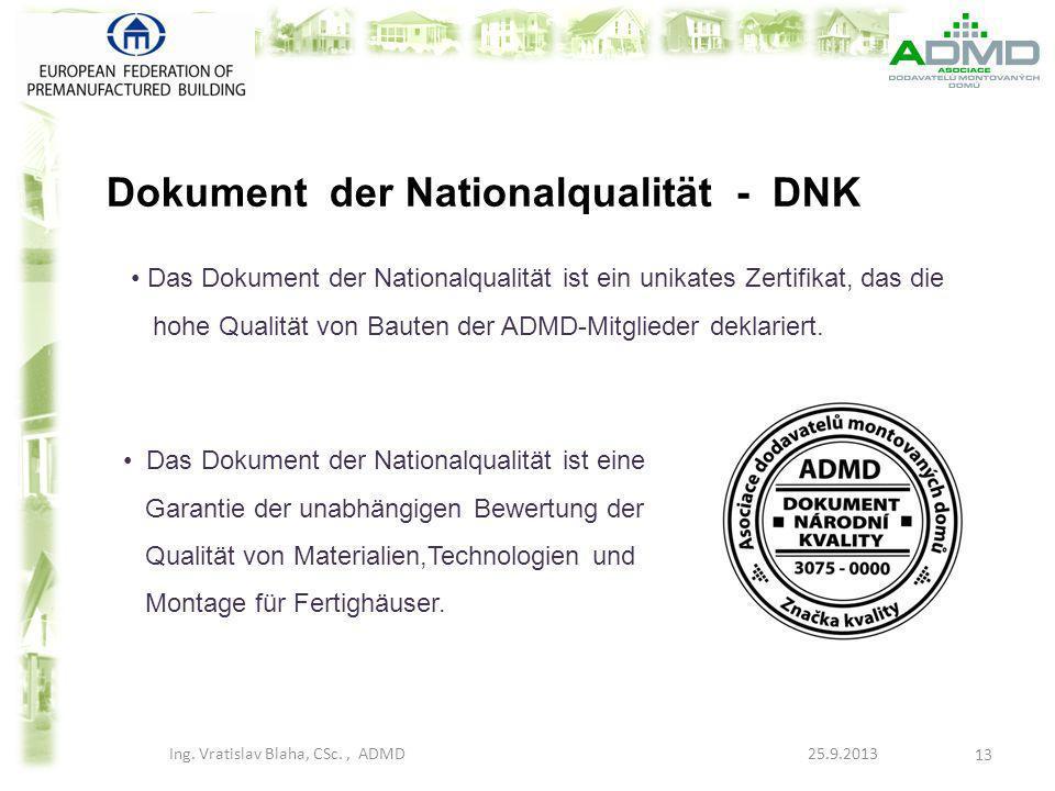 Dokument der Nationalqualität - DNK