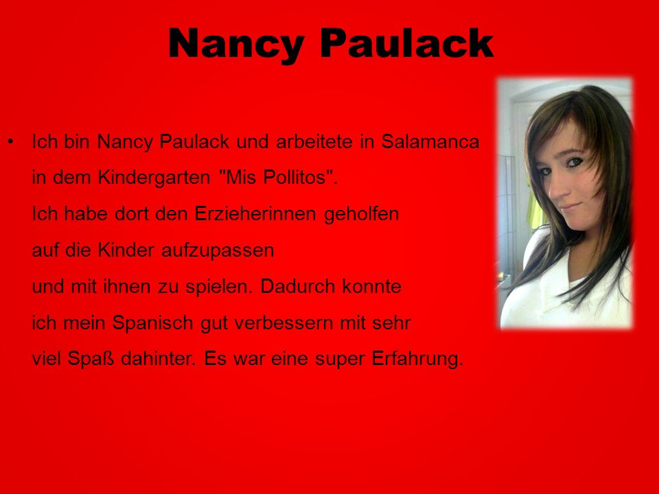 Nancy Paulack