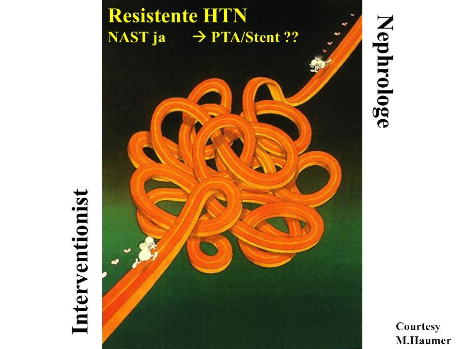 Nephrologe Interventionist Resistente HTN NAST ja  PTA/Stent