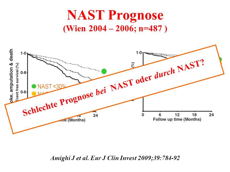 NAST Prognose (Wien 2004 – 2006; n=487 )