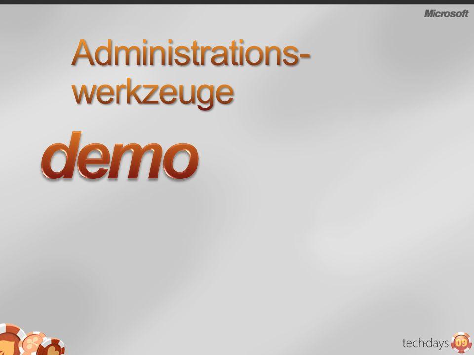 Administrations-werkzeuge