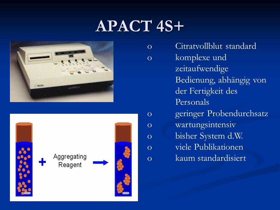 APACT 4S+ Citratvollblut standard