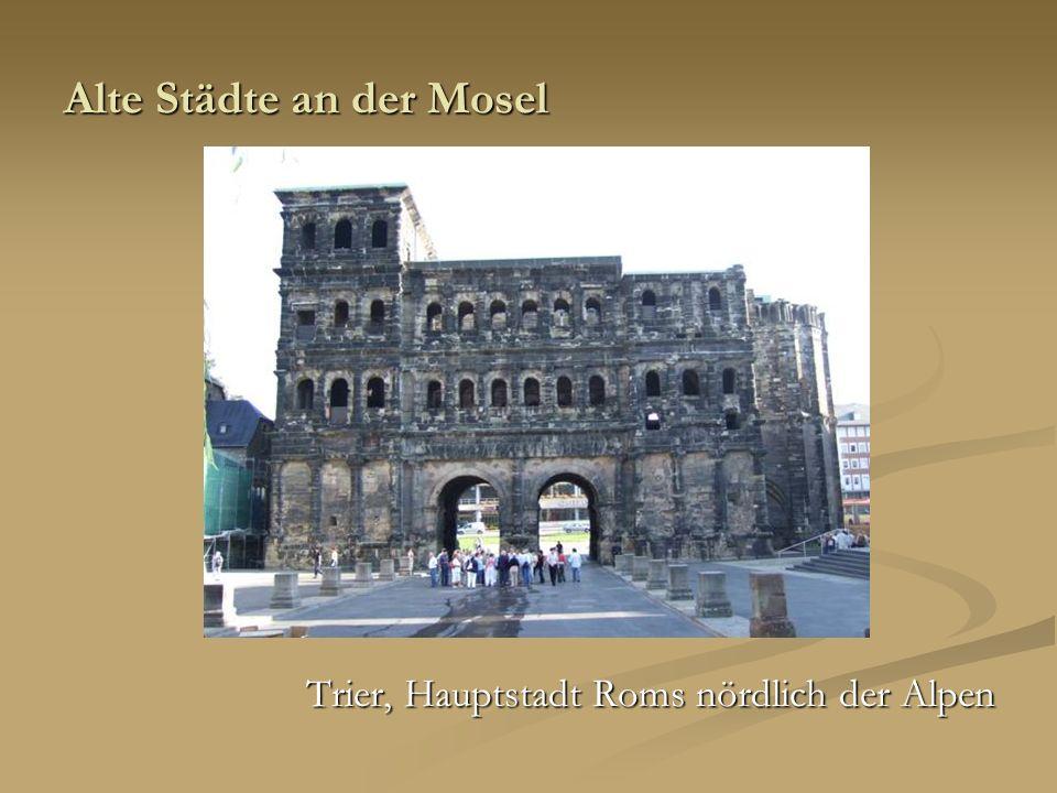 Alte Städte an der Mosel
