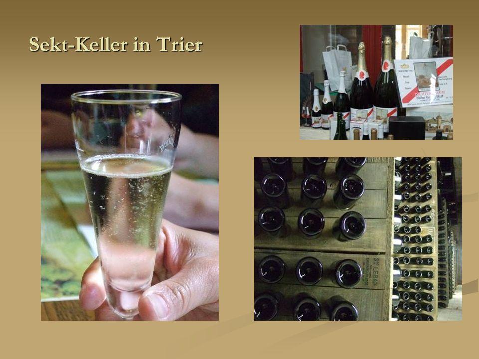 Sekt-Keller in Trier