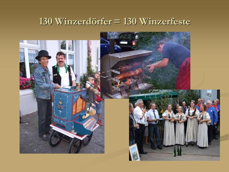 130 Winzerdörfer = 130 Winzerfeste