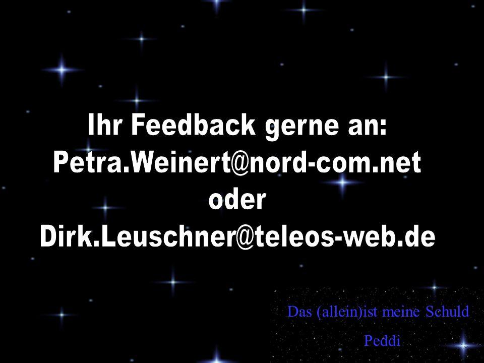 Ihr Feedback gerne an: Petra.Weinert@nord-com.net oder