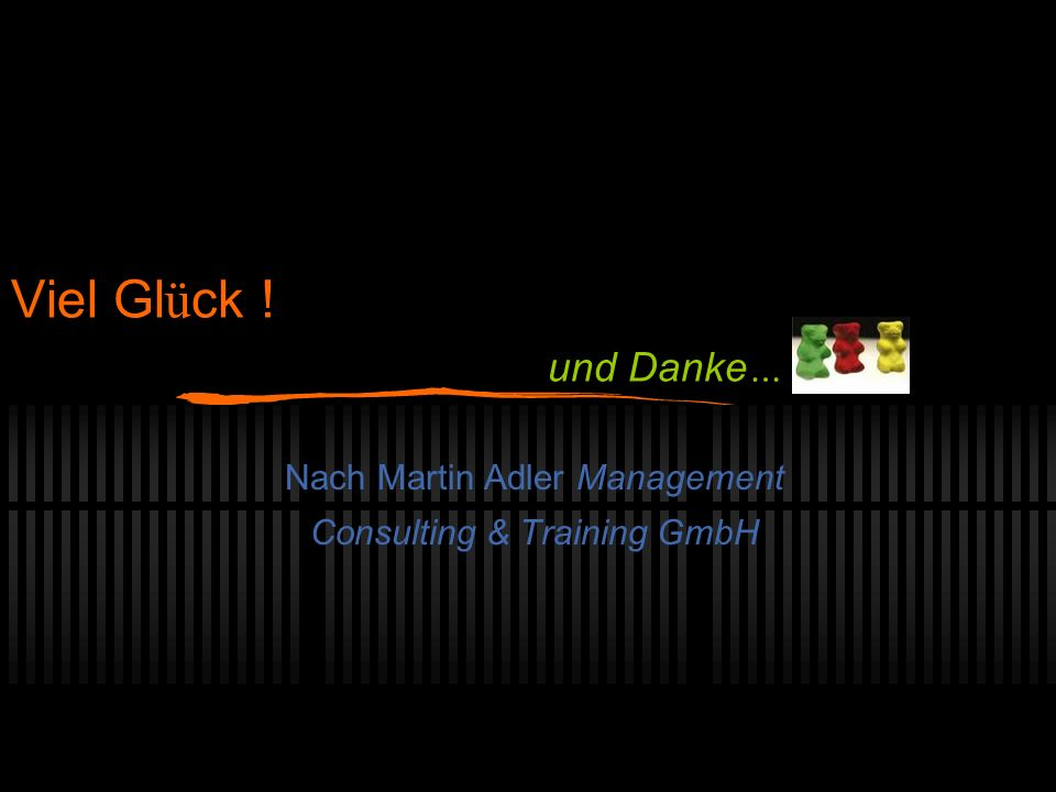 Nach Martin Adler Management Consulting & Training GmbH