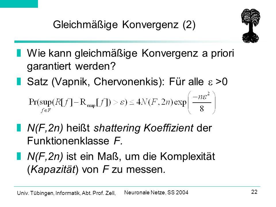 Gleichmäßige Konvergenz (2)