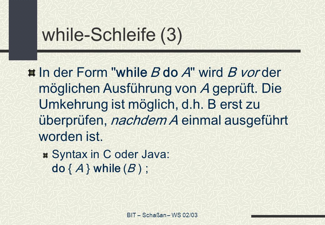 while-Schleife (3)