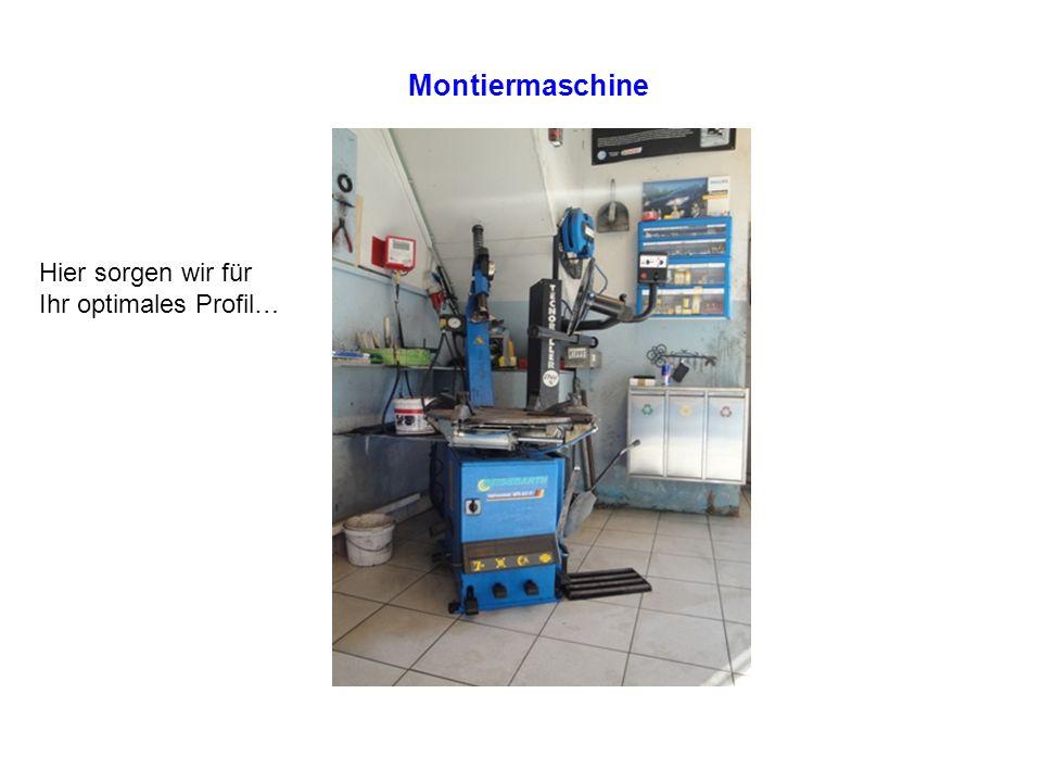 Montiermaschine Hier sorgen wir für Ihr optimales Profil…