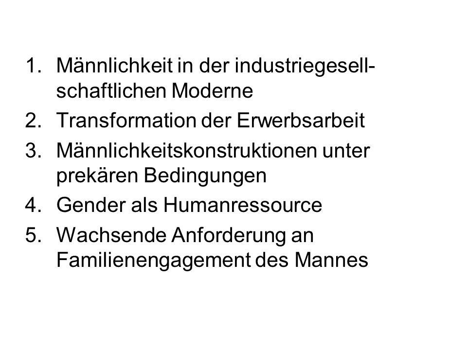 Männlichkeit in der industriegesell-schaftlichen Moderne