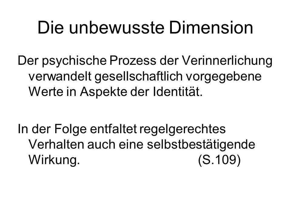 Die unbewusste Dimension