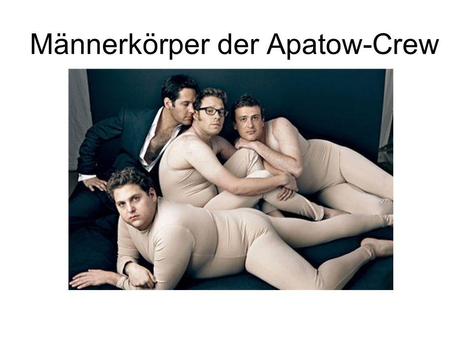 Männerkörper der Apatow-Crew