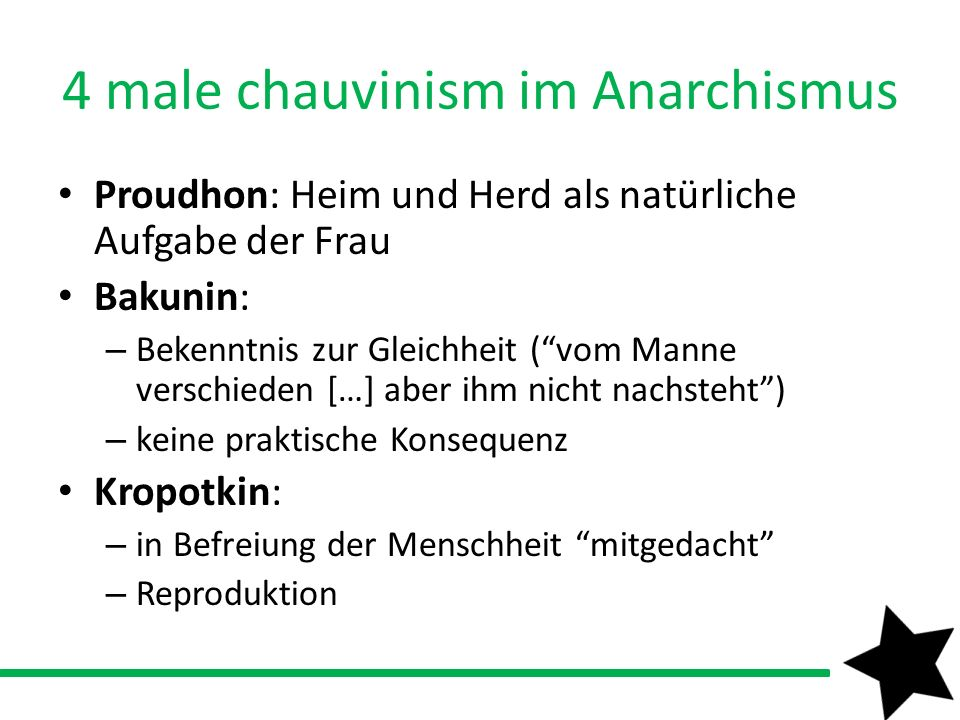 4 male chauvinism im Anarchismus