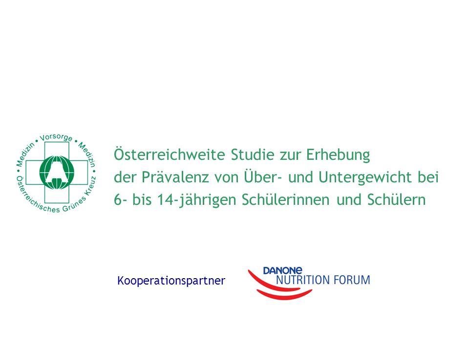 Österreichweite Studie zur Erhebung
