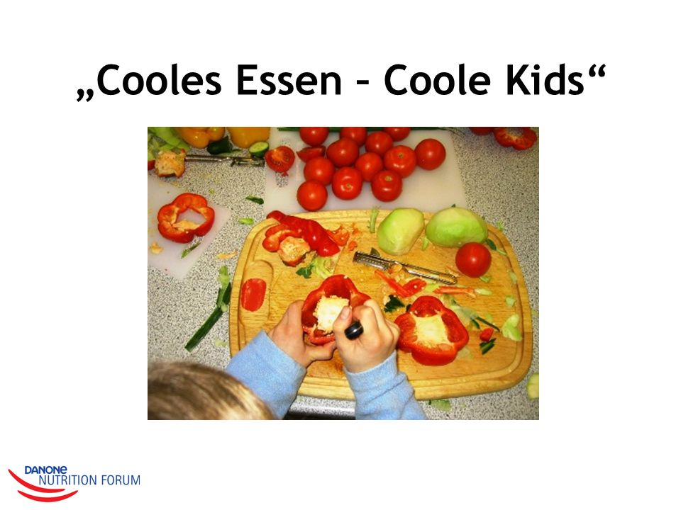"""Cooles Essen – Coole Kids"