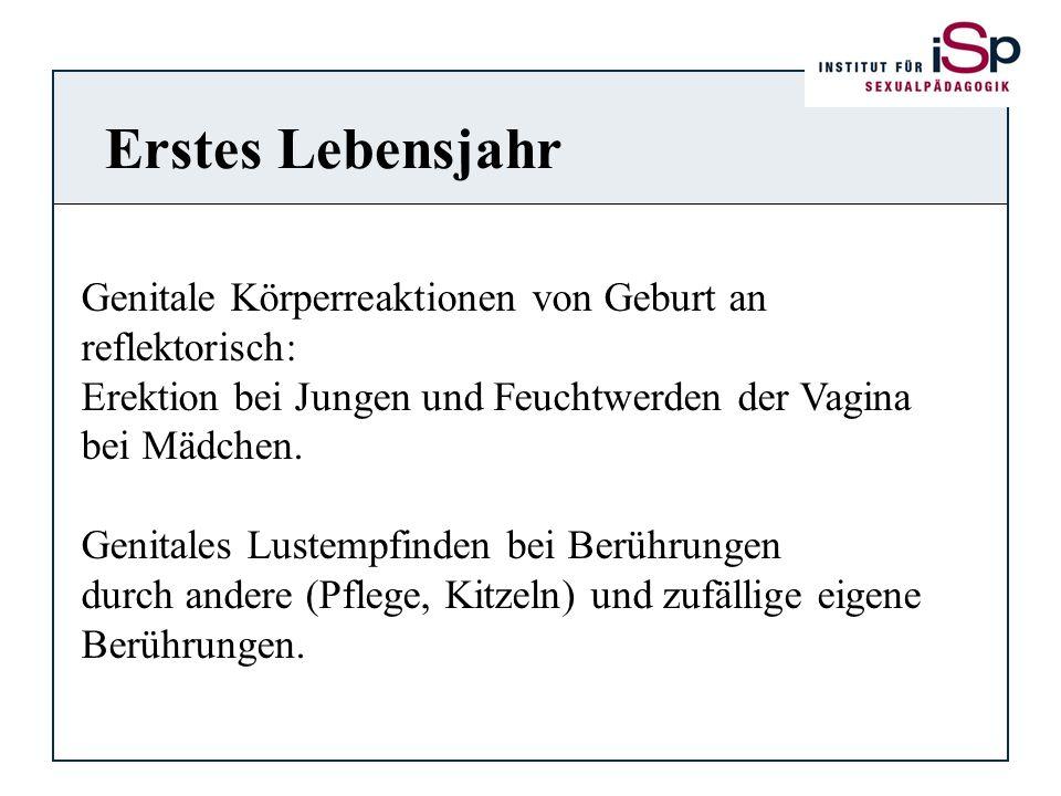 Erstes Lebensjahr Genitale Körperreaktionen von Geburt an
