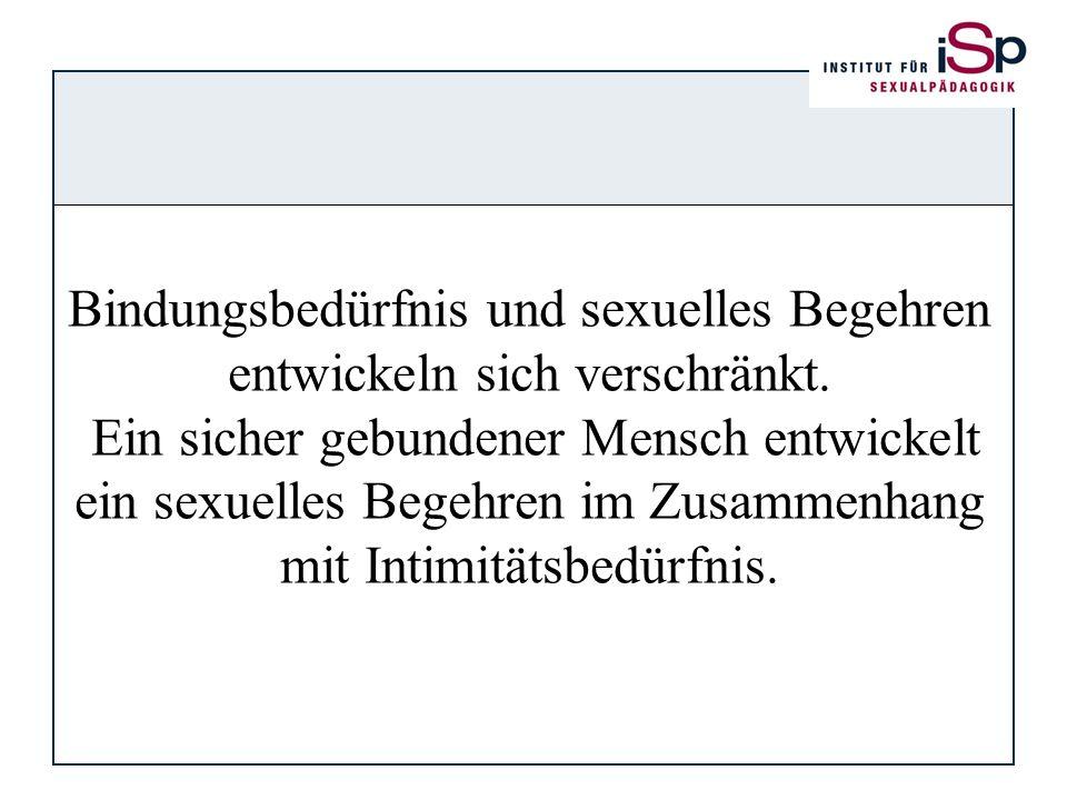Bindungsbedürfnis und sexuelles Begehren entwickeln sich verschränkt.