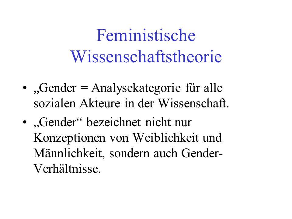 Feministische Wissenschaftstheorie