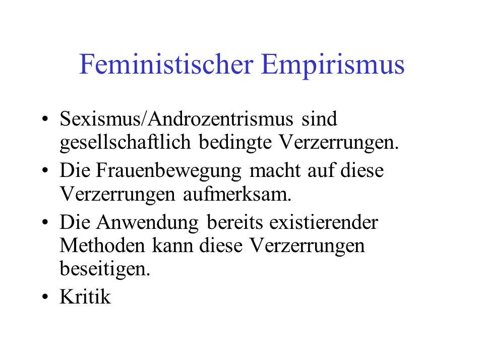 Feministischer Empirismus