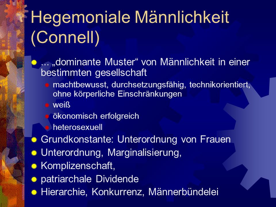 Hegemoniale Männlichkeit (Connell)