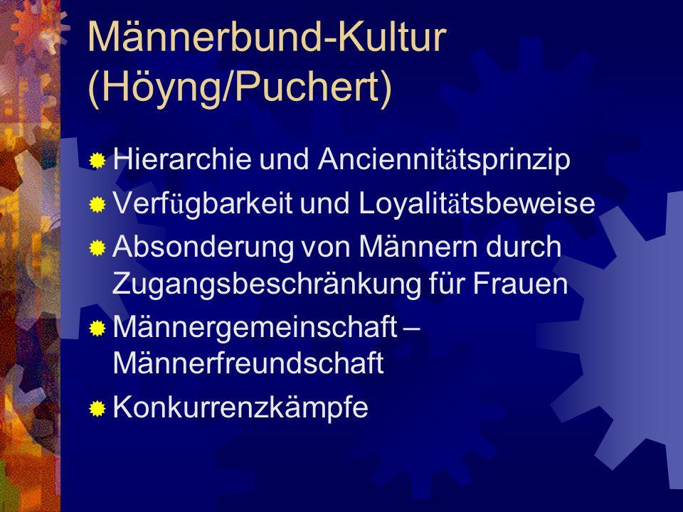 Männerbund-Kultur (Höyng/Puchert)