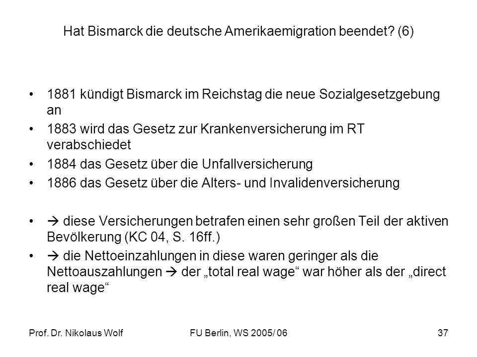 Hat Bismarck die deutsche Amerikaemigration beendet (6)