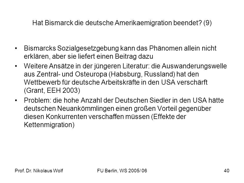 Hat Bismarck die deutsche Amerikaemigration beendet (9)