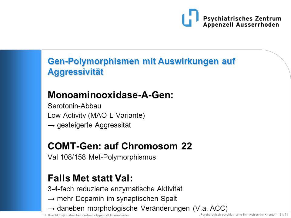 Monoaminooxidase-A-Gen: