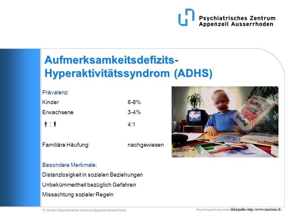 Aufmerksamkeitsdefizits-Hyperaktivitätssyndrom (ADHS)