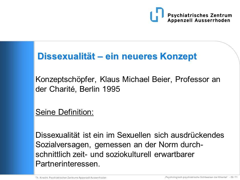 Dissexualität – ein neueres Konzept
