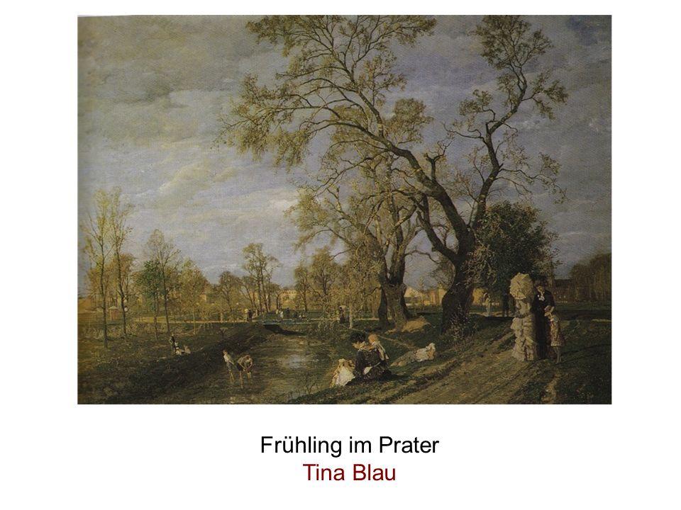 Frühling im Prater Tina Blau
