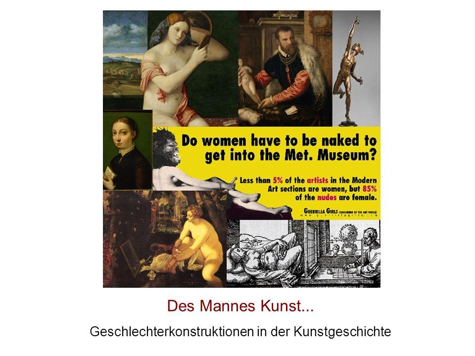 Geschlechterkonstruktionen in der Kunstgeschichte