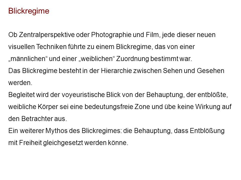 Blickregime