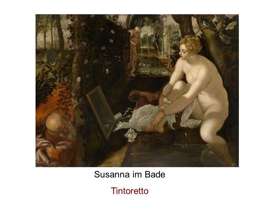 Susanna im Bade Tintoretto