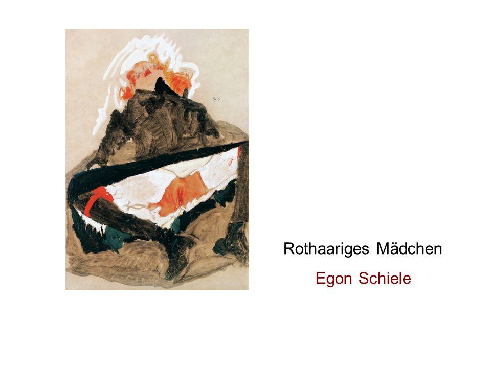 Rothaariges Mädchen Egon Schiele