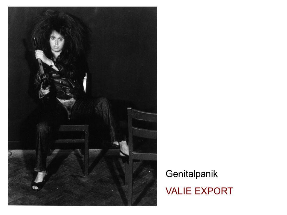 Valie Export, Genitalpanik