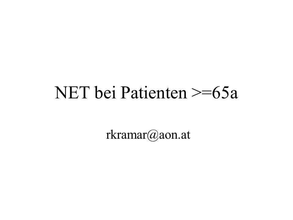 NET bei Patienten >=65a