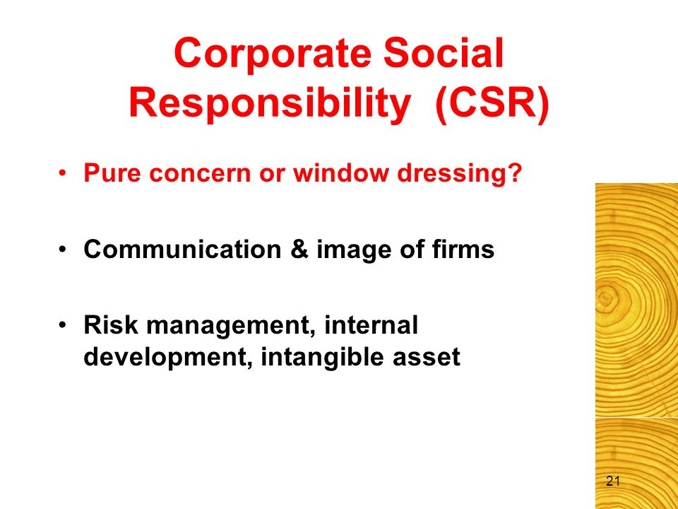 Stakeholder Theory Treating all stakeholders reasonable Management