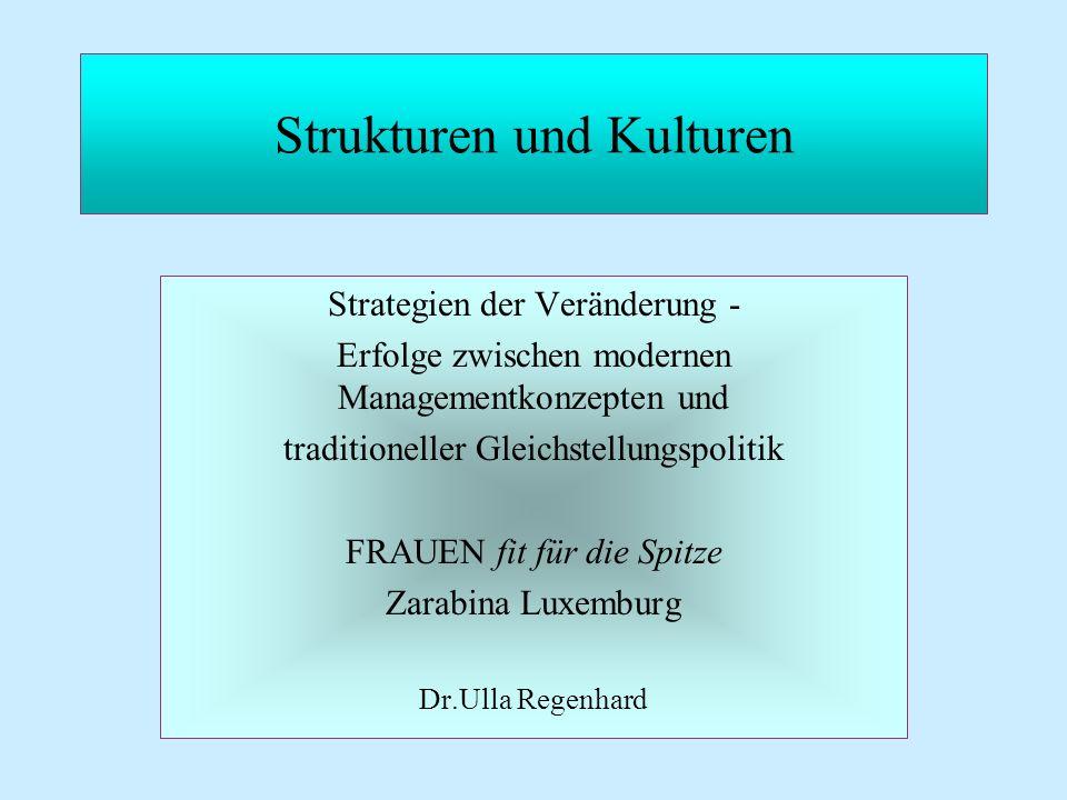 Strukturen und Kulturen