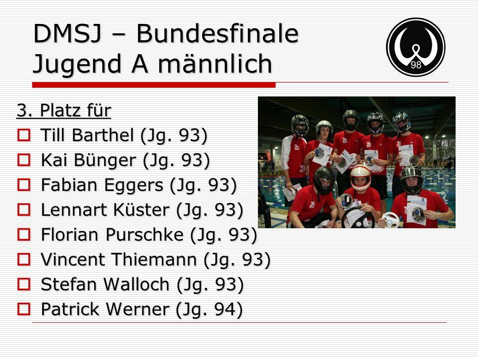 DMSJ – Bundesfinale Jugend A männlich