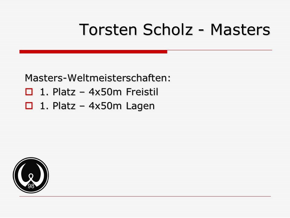 Torsten Scholz - Masters