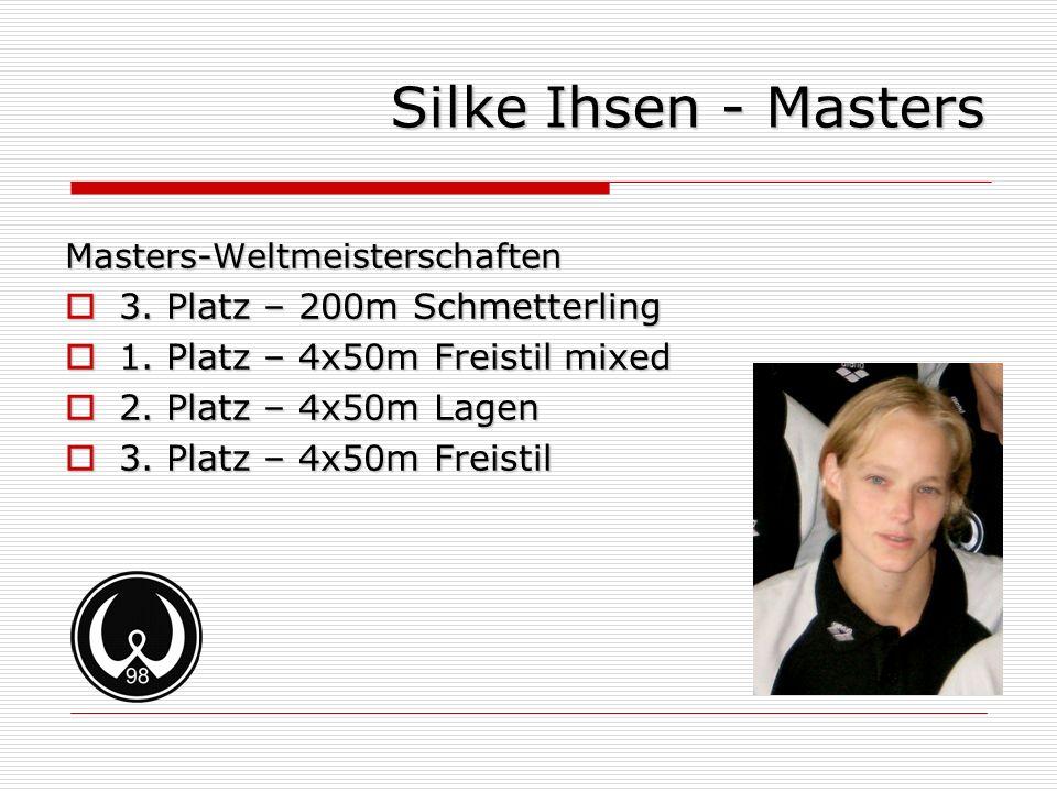 Silke Ihsen - Masters 3. Platz – 200m Schmetterling