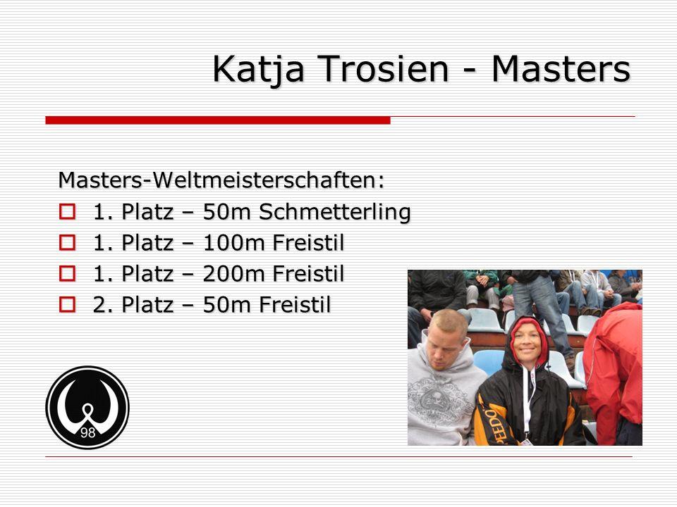 Katja Trosien - Masters