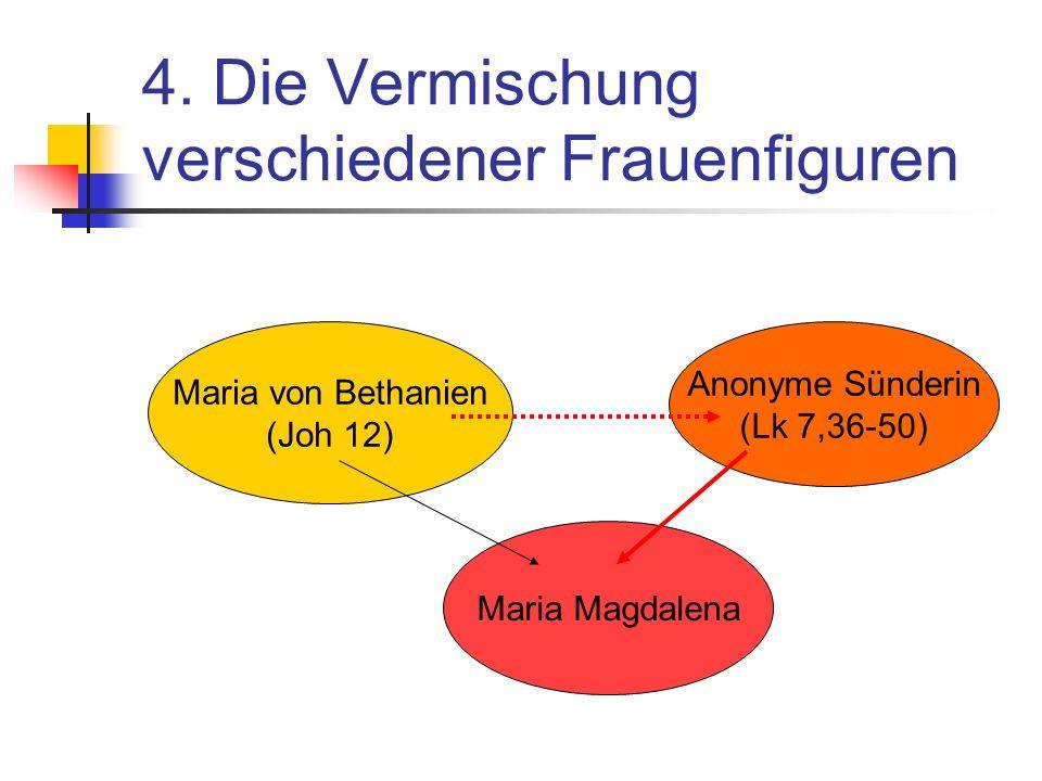 4. Die Vermischung verschiedener Frauenfiguren