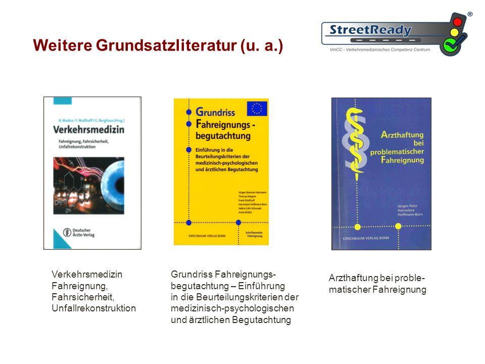 Weitere Grundsatzliteratur (u. a.)