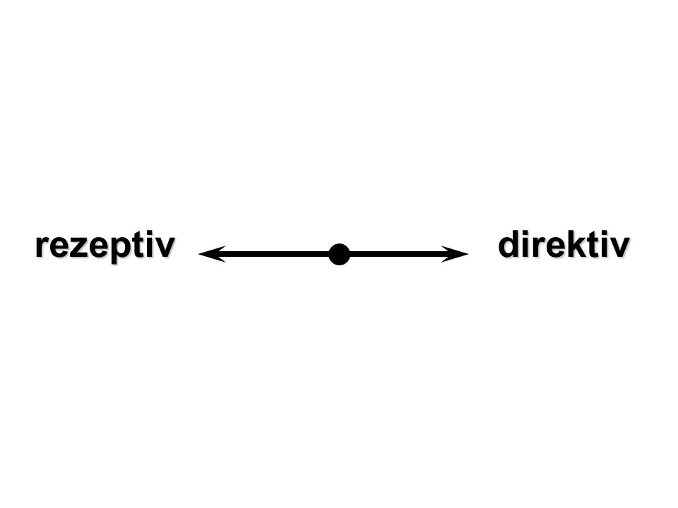 rezeptiv direktiv
